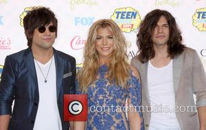 The Band Perry - 2014 Teen Choice Awards held at The Shrine Auditorium - Arrivals - Los Angeles, California, United...