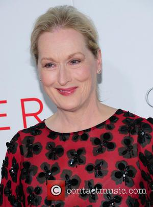 Meryl Streep - Stars attend the premiere of the social science fiction film 'The Giver' starring Jeff Bridges, Meryl Streep,...