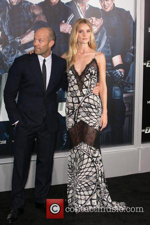 Jason Statham and Rosie Huntington-Whiteley - Stars attended the Premiere of 'The Expendables 3' on August 11th 2014 which was...