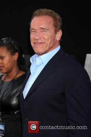 Arnold Schwarzenegger - 'The Expendables 3' Premiere held at the...