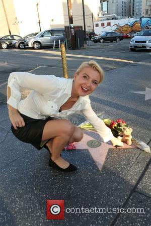 Lauren Bacall - Lauren Bacall's Hollywood walk of Fame Star