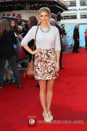 Ashley James - The U.K. premiere of 'What If' held at the Odeon West End - Arrivals - London, United...