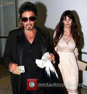 Al Pacino and Lucila Sola - Al Pacino and Lucila Sola out in Beverly Hills - Los Angeles, California, United...
