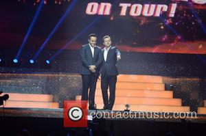 Ant McPartlin and Declan Donnelly - Ant & Dec's Takeaway On Tour at Phones 4 U Arena Manchester - Manchester,...