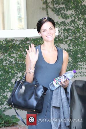 Jaimie Alexander - Jaimie Alexander shopping at Melrose Place in West Hollywood wearing a blue cotton dress and scruffy boots...