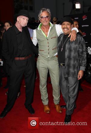 Frank Miller, Mickey Rourke and Danny Trejo