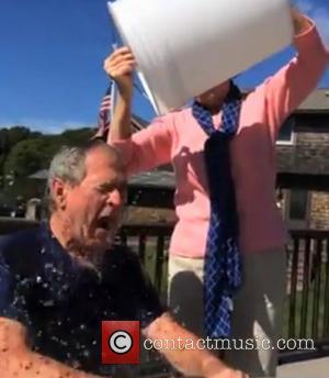 George W. Bush and Laura Bush
