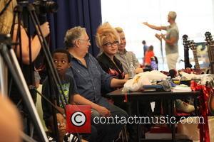 Harvey Fierstein, Jerry Mitchell, Cyndi Lauper
