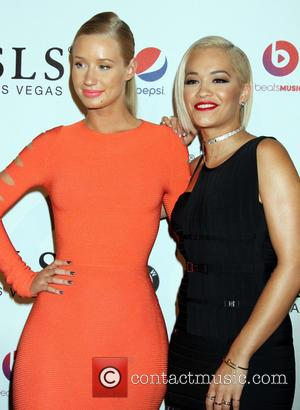 Iggy Azalea and Rita Ora