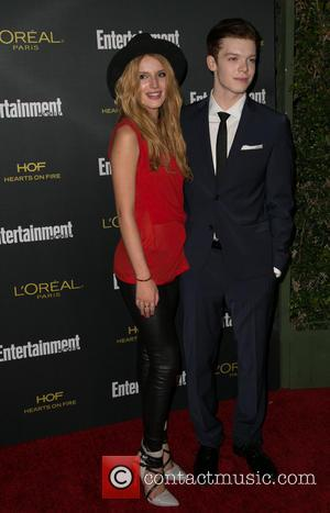 Bella Thorne and Cameron Monaghan - British Academy of Film and Television Arts (BAFTA) Los Angeles TV Tea presented by...