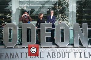 Jenna-Louise Coleman, Peter Capaldi and Sam Anderson - 'Doctor Who' screening held at the Odeon Leicester Squa - London, United...