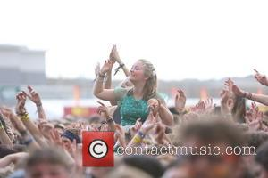 Foster The People - Reading Festival 2014 - Day 2 - Atmosphere - Reading, United Kingdom - Saturday 23rd August...