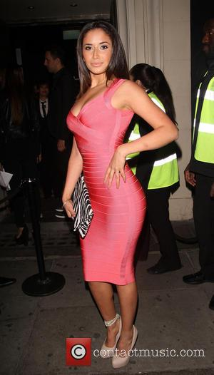 Sahara Santos - Brazilian model Sahara Santos arrives to support Miami DJ Stevie J at Libertines night club. She is...