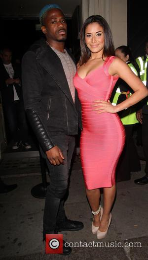 Sahara Santos and DJ Bluey - Brazilian model Sahara Santos arrives to support Miami DJ Stevie J at Libertines night...