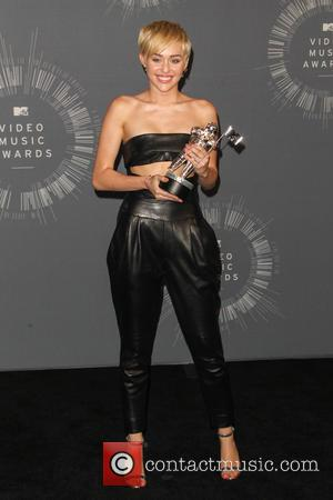 Miley Cyrus - 2014 MTV Video Music Awards at The Forum - Press Room - Inglewood, California, United States -...