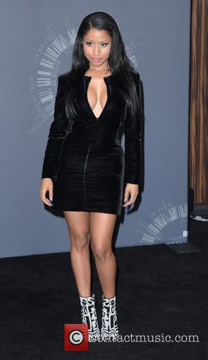 Nicki Minaj - 2014 MTV Video Music Awards at The Forum - Press Room - Los Angeles, California, United States...