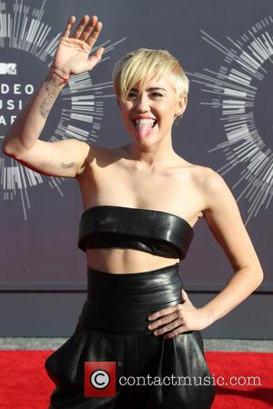 Miley Cyrus - 2014 MTV Video Music Awards at The Forum - Inglewood, California, United States - Sunday 24th August...