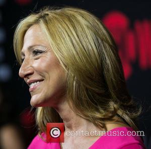 Edie Falco - Showtime's 2014 Emmy Eve Soiree at Sunset Tower Hotel - Arrivals - Los Angeles, California, United States...
