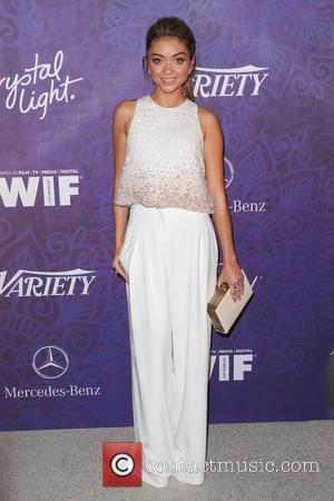 Sarah Hyland - Women in Film & Television Pre-Emmy Party with Variety at Gracias Madre - West Hollywood, California, United...