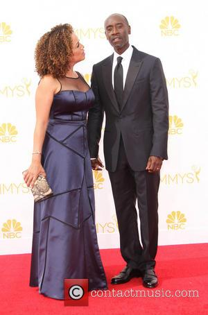 Don Cheadle and Bridgid Coulter - 66th Primetime Emmy Awards held at The Nokia Theatre L.A. Live. - Los Angeles,...