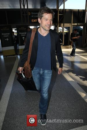 Nikolaj Coster-Waldau - Nikolaj Coster-Waldau arriving at Los Angeles International Airport (LAX) - Los Angeles, California, United States - Tuesday...