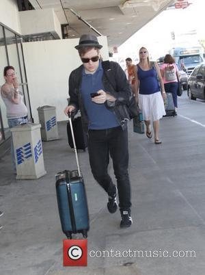 Patrick Stump - Patrick Stump departs from Los Angeles International Airport (LAX) - Los Angeles, California, United States - Wednesday...