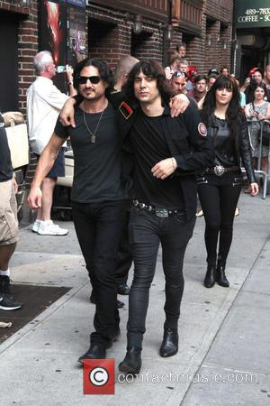 Brad Wilk, Edgey Pires and The Last Internationale - Celebrities including Scottish star of X-men James McAvoy photographed at the...