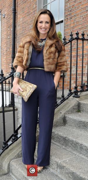 Lorraine Keane - Various celebrities attended the wedding of former Miss Ireland and TV presenter Pamela Flood to restaurateur Ronan...