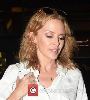 Kylie Minogue - Australian pop star who has had hits with songs such as 'Cant Get You Out Of My...