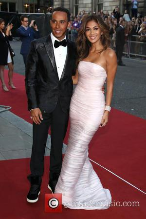 Lewis Hamilton and Nicole Scherzinger - The GQ Awards 2014 held at the Royal Opera House - Arrivals - London,...