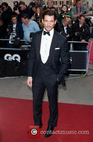David Gandy - GQ Men of the Year Awards held at the Royal Opera House - Arrivals. - London, United...