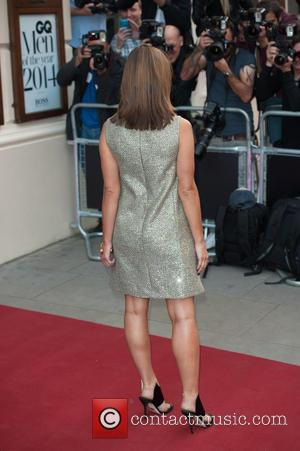 Jenna Coleman - GQ Men of the Year Awards held at the Royal Opera House - Arrivals. - London, United...