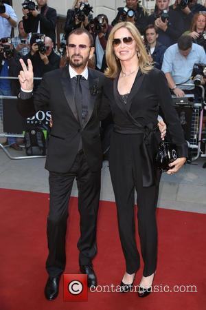 Ringo Starr and Barbara Bach - The GQ Awards 2014 held at the Royal Opera House - Arrivals - London,...