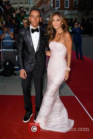 Lewis Hamilton and Nicole Scherzinger - GQ Men of the Year Awards 2014 - Arrivals - London, United Kingdom -...