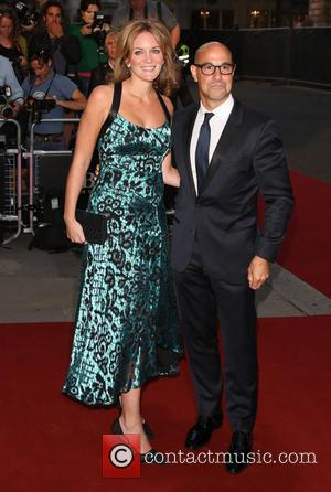 Stanley Tucci and Felicity Blunt - The GQ Awards 2014 held at the Royal Opera House - Arrivals - London,...