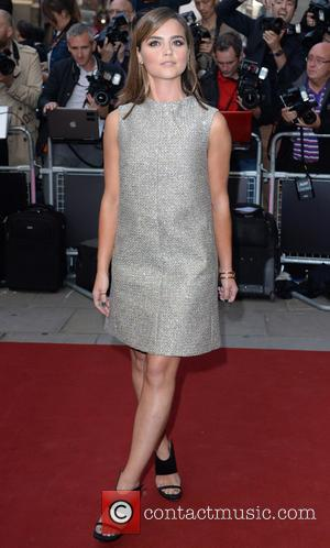 Jenna Coleman - GQ Men Of The Year Awards held at the Royal Opera House - Arrivals - London, United...