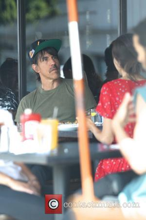 Anthony Kiedis - Red Hot Chili Peppers front man Anthony Kiedis photographed with his wife and Australian model Helena Vestergaard...