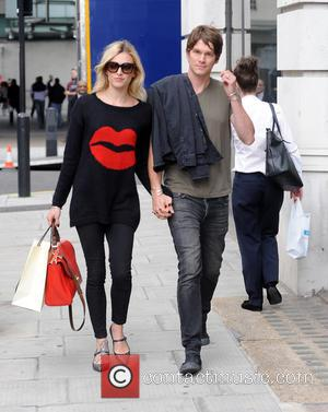 Fearne Cotton Jesse Wood - Fearne Cotton and husband Jesse Wood walk hand in hand from Radio 1 on the...
