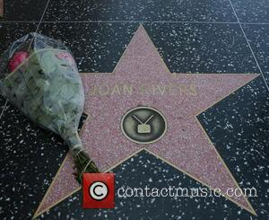 Joan Rivers - Joan Rivers star on the Hollywood Walk of Fame - Los Angeles, California, United States - Thursday...
