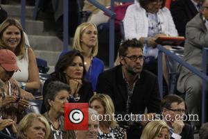 Mariska Hargitay and Peter Hermann - 2014 US Open Tennis Championships - Day 11 -Celebrity Sightings - New York City,...