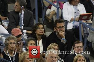 Mariska Hargitay and Peter Hermann - 2014 US Open Tennis Championships - Day 11 -Celebrity Sightings - New York City,...