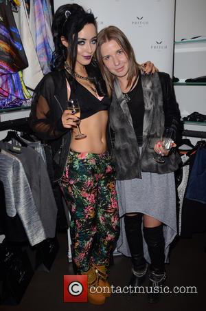 Hatty Keane and Arina Pritch - Arina Pritch debuts the latest designs from her womenswear label Pritch London, at the...