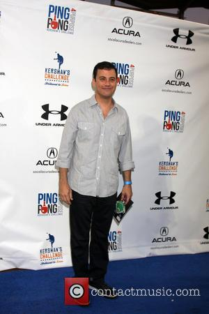 Jimmy Kimmel - L.A. Dodgers pitcher Clayton Kershaw hosted the 'Ping Pong 4 Purpose' Event on 4th September at Dodger...