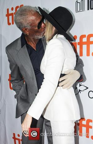 Diane Keaton and Morgan Freeman - Toronto International Film Festival (TIFF) - 'Ruth & Alex' - Premiere - Toronto, Ontario,...