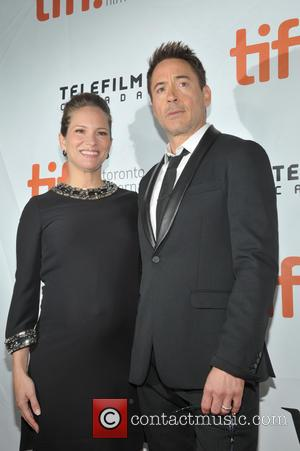 Robert Downey Jr. and his wife Susan Downey - Toronto International Film Festival (TIFF) - 'The Judge' - Premiere -...