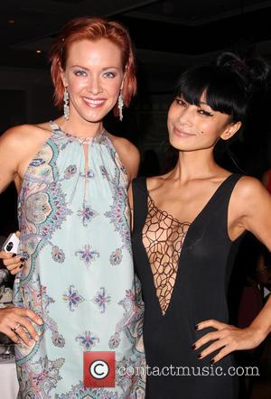 Kristanna Loken and Bai Ling - The Burbank International Film Festival 2014 - Closing Night - Inside - Burbank, California,...