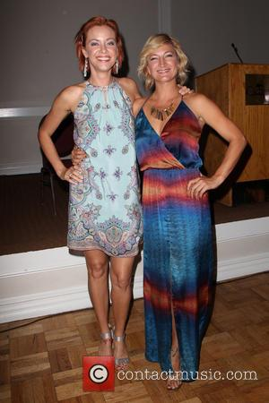 Kristanna Loken and Zoë Bell - The Burbank International Film Festival 2014 - Closing Night - Inside - Burbank, California,...