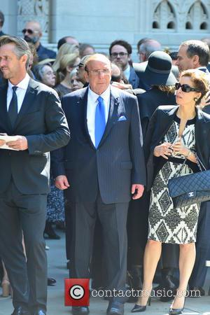 Clive Davis - Joan Rivers Memorial Service