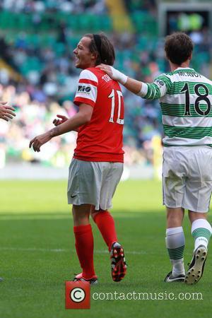 Louis Tomlinson - MAESTRIO Charity Match at Celtic Park - Glasgow, United Kingdom - Sunday 7th September 2014