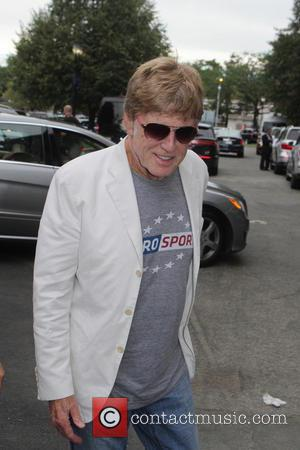 Robert Redford - Celebrities and Players at the Men's Final of the 2014 U.S. Open. Marin Cilic of Croatia won...